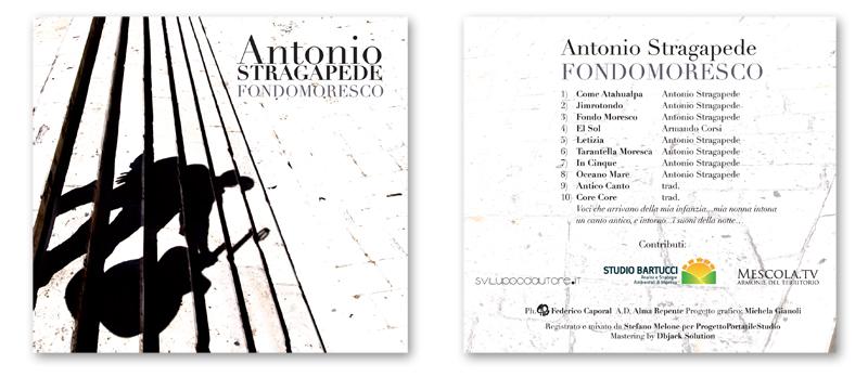 Fondomoresco - Audio CD , Copertina fronte e retro.